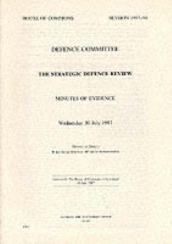 Download The Strategic Defence Review (House of Commons Papers)