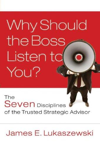 Why Should the Boss Listen to You