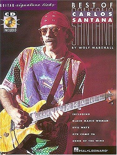 Best of Carlos Santana* Signature Licks, Marshall, Wolf
