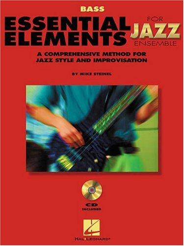 Download Essential Elements for Jazz Ensemble a Comprehensive Method for Jazz Style and Improvisation