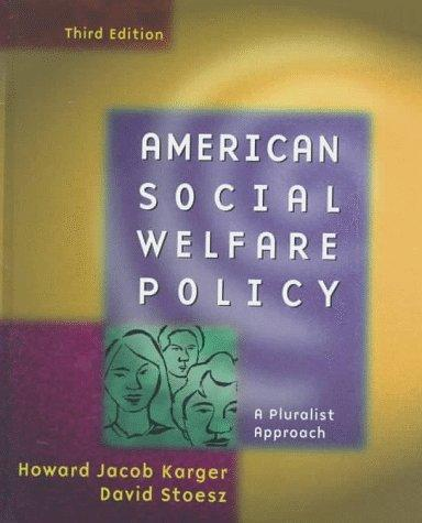 Download American Social Welfare Policy