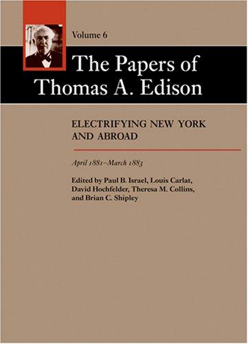 Download The Papers of Thomas A. Edison