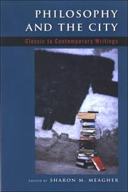 Philosophy And The City: Classic To Contemporary Writings PDF Download