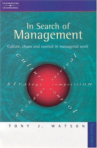 Download In Search of Management (Revised Edition)