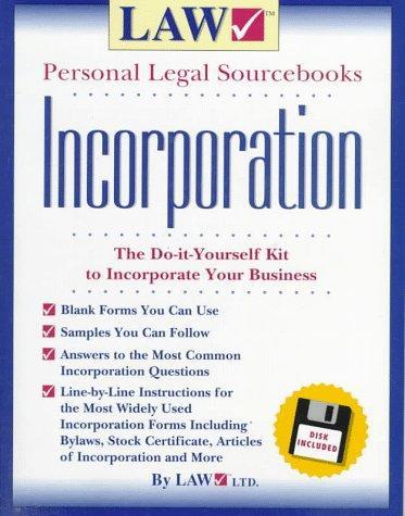 Incorporation Law