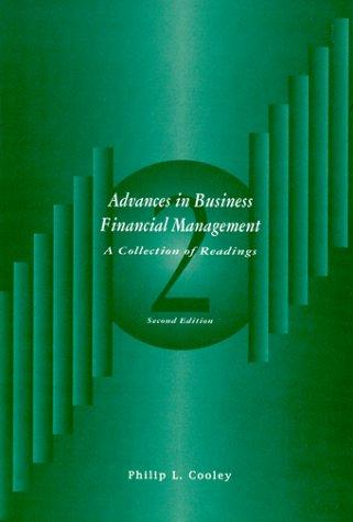 Advances in Business Financial Management