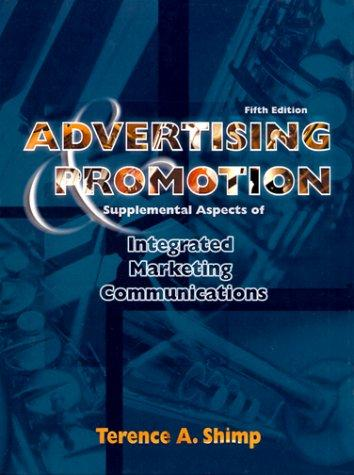 Download Advertising, promotion & supplemental aspects of integrated marketing communications