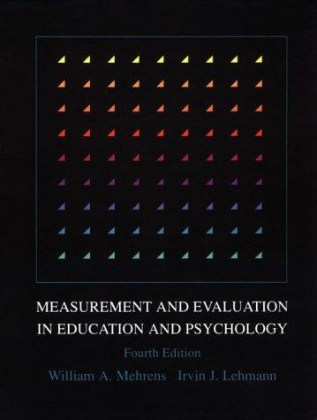 Download Measurement and evaluation in education and psychology