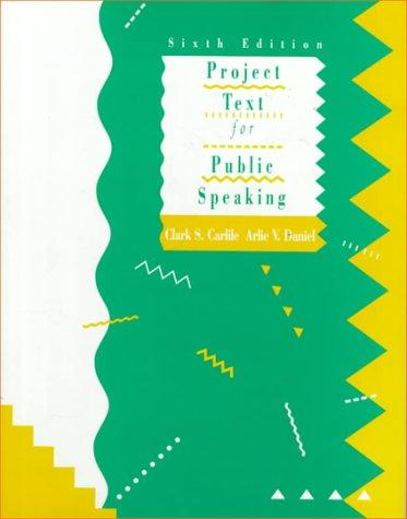 Download Project text for public speaking.