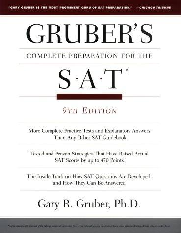 Gruber's Complete Preparation for the SAT (9th Edition)