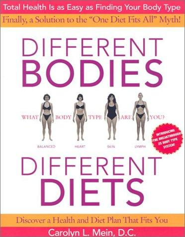 Download Different Bodies, Different Diets