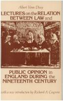 Download Lectures on the relation between law and public opinion in England during the nineteenth century