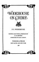 Download Wodehouse on crime