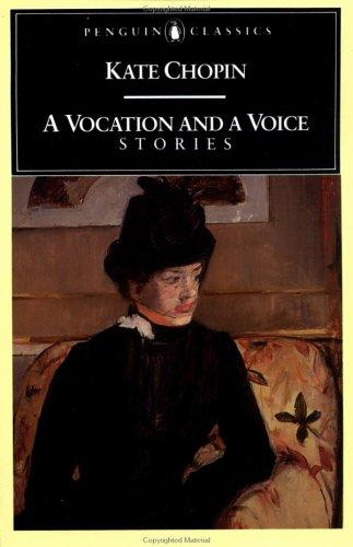 A vocation and a voice