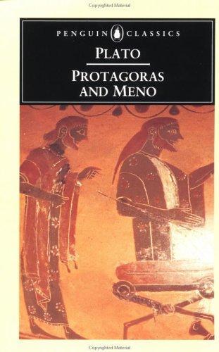Protagoras and Meno (Penguin Classics)