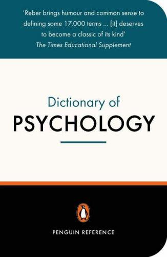 The Penguin dictionary of psychology