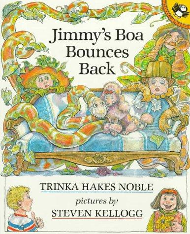 Jimmy's Boa Bounces Back (Picture Puffin Books)