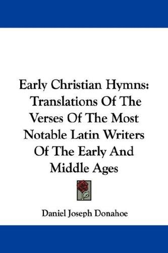 Download Early Christian Hymns