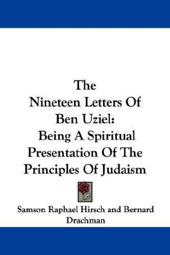 Download The Nineteen Letters Of Ben Uziel