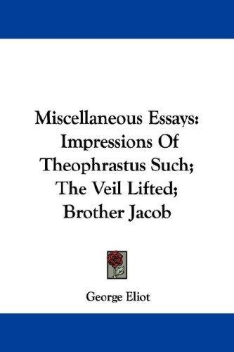Download Miscellaneous Essays
