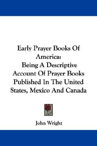Download Early Prayer Books Of America