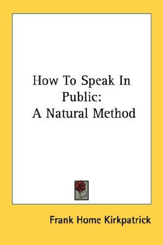 Download How To Speak In Public
