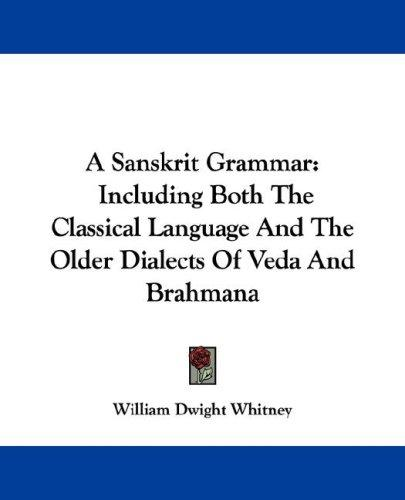 Download A Sanskrit Grammar