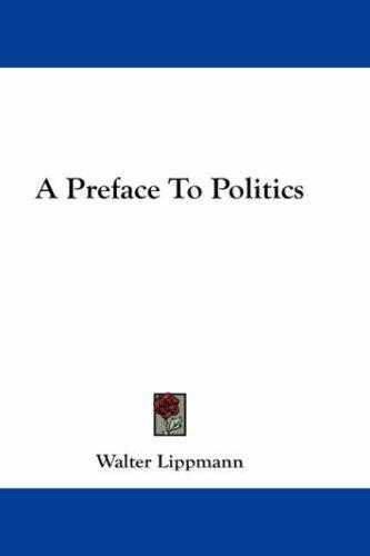 Download A Preface To Politics