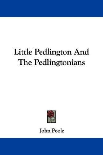 Little Pedlington And The Pedlingtonians