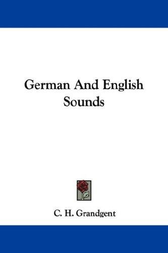 German And English Sounds