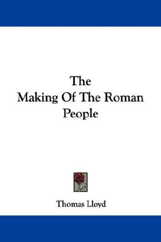 The Making Of The Roman People