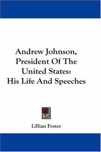 Download Andrew Johnson, President Of The United States