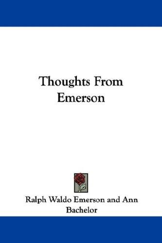 Download Thoughts From Emerson