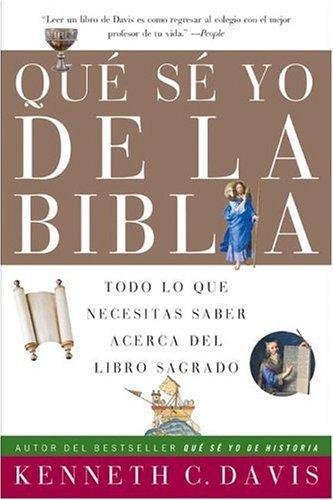 Que Se Yo de la Biblia