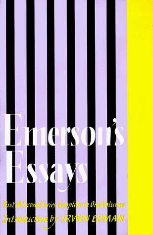 Download Emerson's Essays
