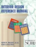 Download Interior design reference manual