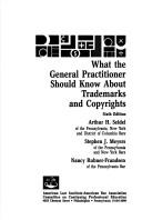 Download What the general practitioner should know about trademarks and copyrights