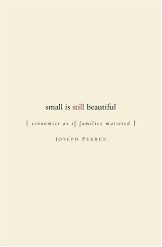 Download Small is Still Beautiful