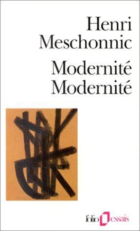 Modernité, modernité