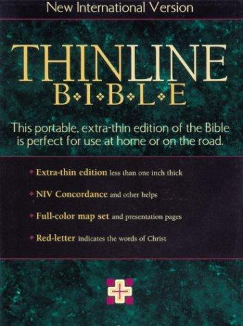 Download NIV Thinline Bible, Large Print