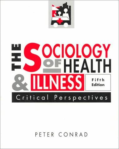 Download Sociology of Health and Illness