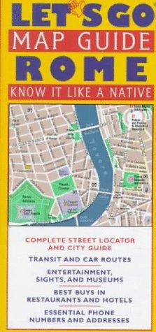 Let's Go Map Guide Rome (Let's Go Map Guides)