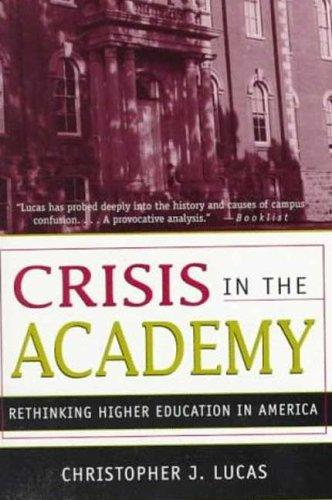 Download Crisis in the Academy