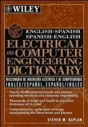 Download English-Spanish, Spanish-English electrical and computer engineering dictionary =