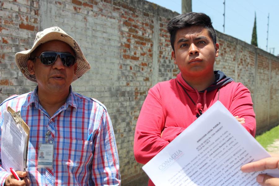 Inspectores de la CONAGUA