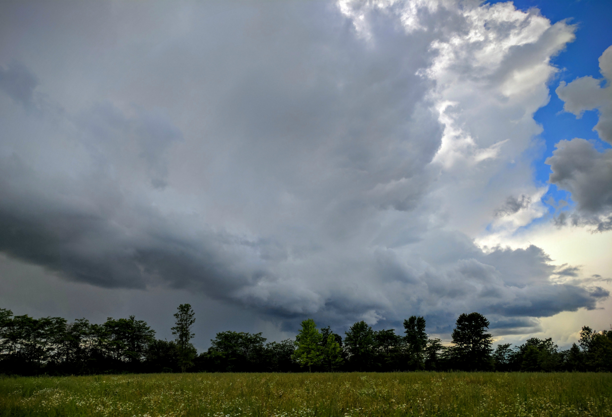 Storms approaching in Seneca Falls (photo)