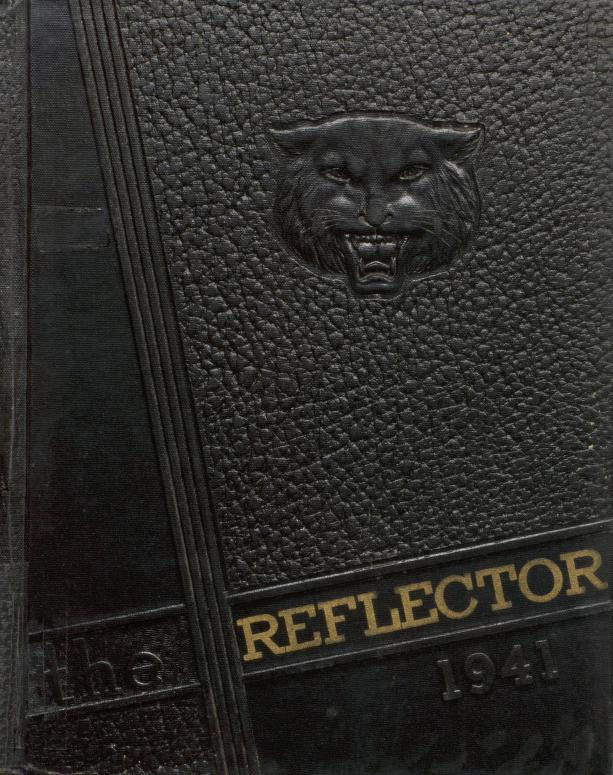Cover image of Griffith High School's yearbook, the Reflector, 1941