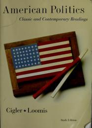 Cover of: American Politics | Allan J. Cigler