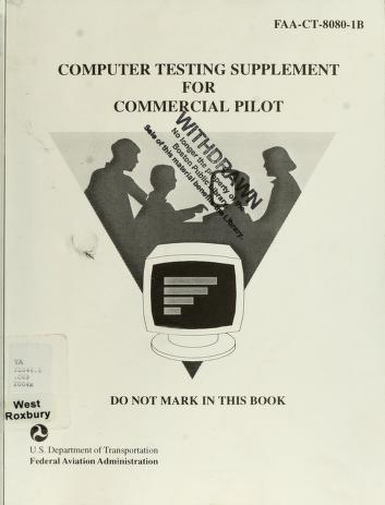 Cover of: Commercial Pilot Test Prep 2005 | Aviation Supplies & Academics