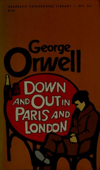 Cover of: Down and out in Paris and London | George Orwell